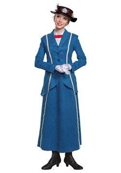 Disney Mary Poppins Women's Mary Poppins Blue Coat Costume