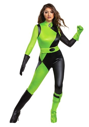 Kim Possible Animated Series Women's Shego Costume Update