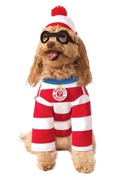 Where's Waldo Dog Costume