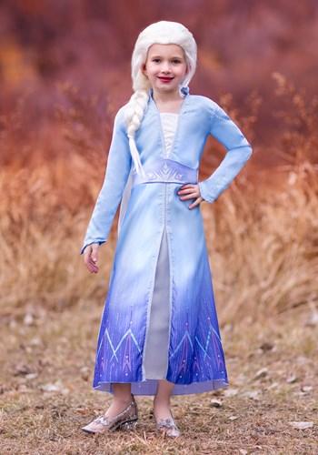 Frozen 2 Girls Elsa Prestige Costume