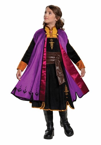 Frozen 2 Girls Anna Prestige Costume