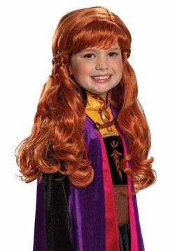 Girls Anna Frozen 2 Wig