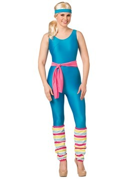 Barbie Costume Women's Exercise Barbie