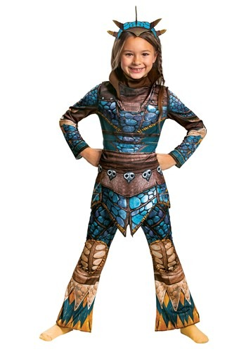 How to Train Your Dragon Girl's Astrid Costume