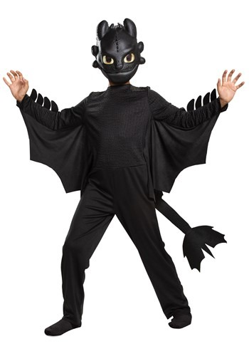 How to Train Your Dragon Kid's Toothless Classic C1