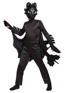 Deluxe How to Train Your Dragon Child Toothless Costume