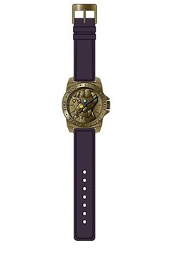 The Avengers Infinity Gauntlet Watch w/ Purple Strap