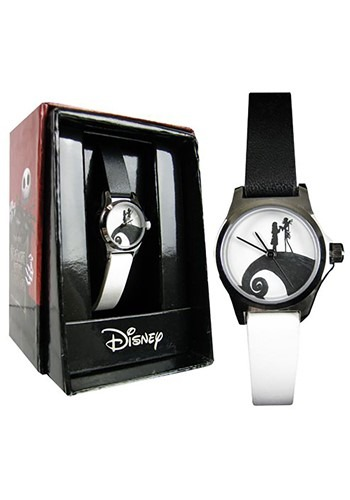 Nightmare Before Christmas Black & White Strap Wat