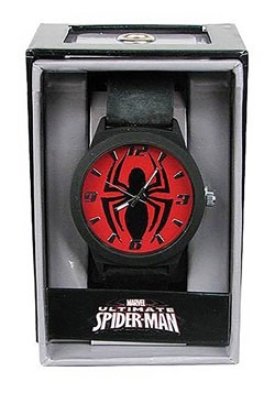 Spider Man Emblem Strap Watch for Men
