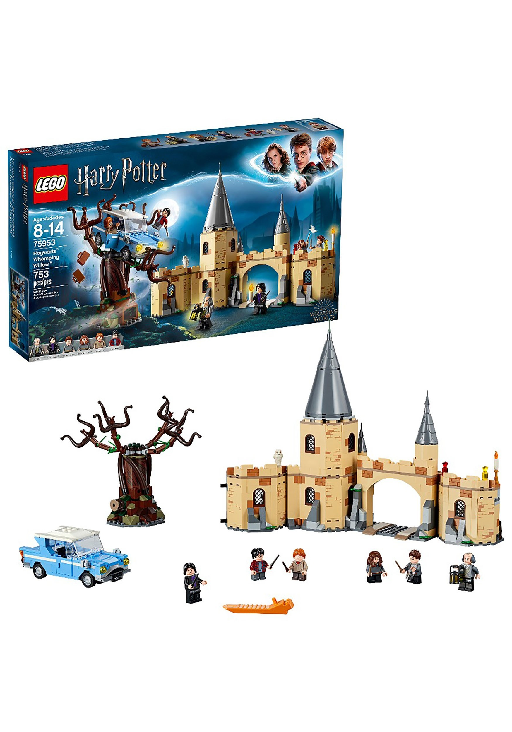 Harry Potter LEGO Hogwarts Whomping Willow