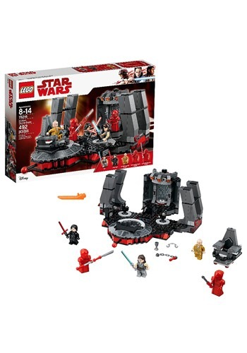LEGO Star Wars Snoke's Throne Room