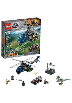LEGO Jurassic World Blue's Helicopter Pursuit