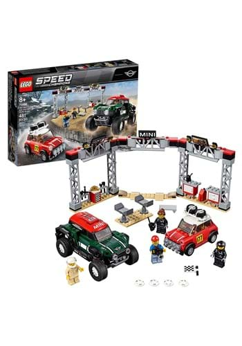 LEGO Speed Champions '67 Mini Cooper & '18 Works Buggy Set2