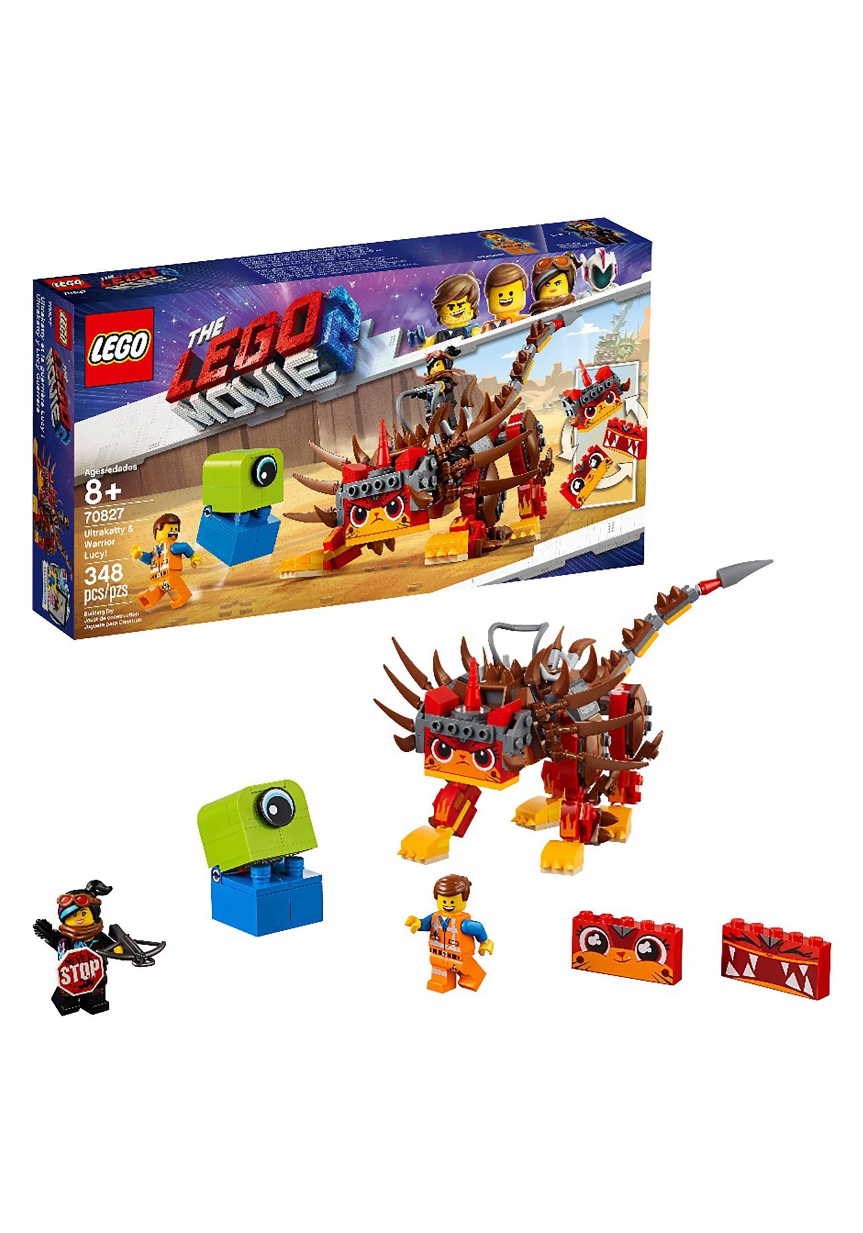 LEGO Movie 2 Ultrakatty and Warrior Lucy Lego Set