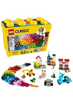 LEGO 4+ Classic Large Creative Brick Box