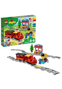 LEGO DUPLO Town Steam Train Building Set