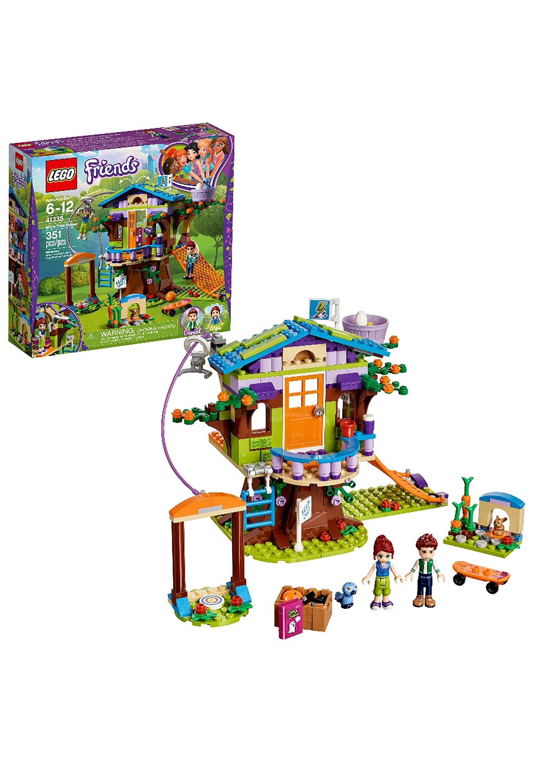 Lego Friends 351pc Mia S Tree House