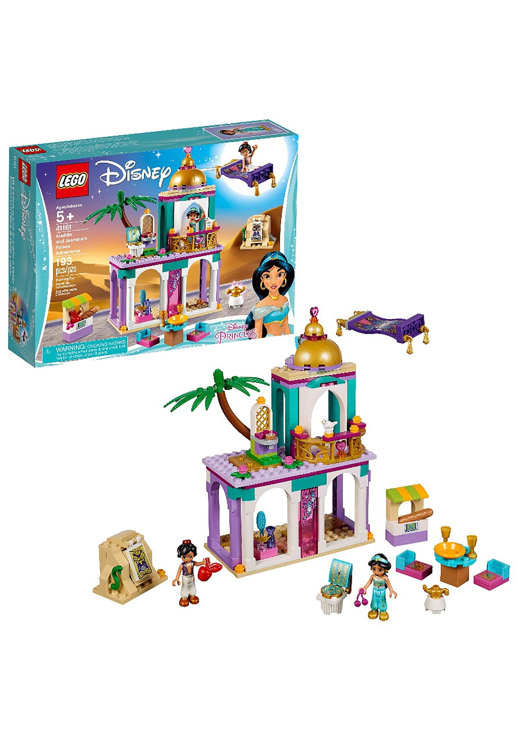 Lego Disney Princess Aladdin Jasmine S Palace Set