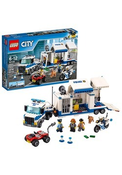 LEGO City Police Mobile Command Center