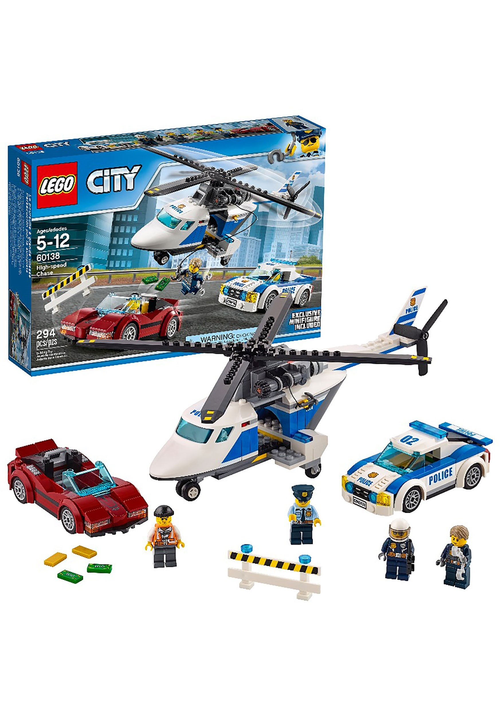 Police High-Speed Chase LEGO City Building Set