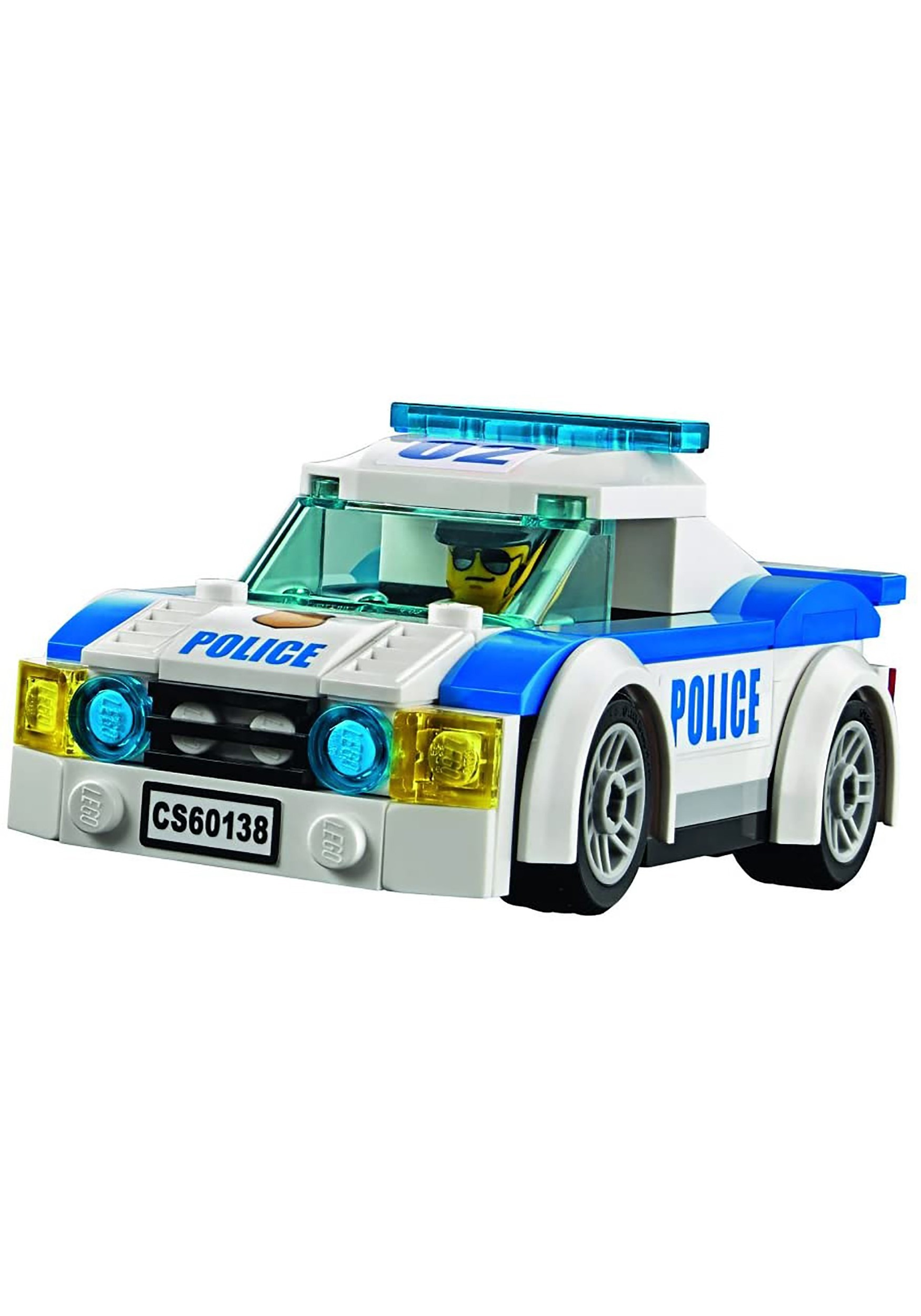 Police High Speed Chase Lego City Building Set