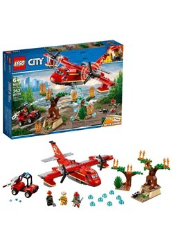 Fire Plane LEGO City Set