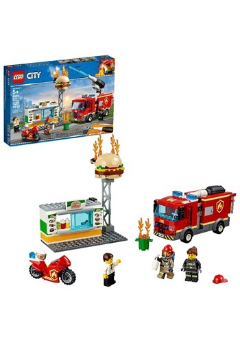 Burger Bar Fire Rescue LEGO City Set
