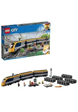Passenger Train LEGO City Building Set