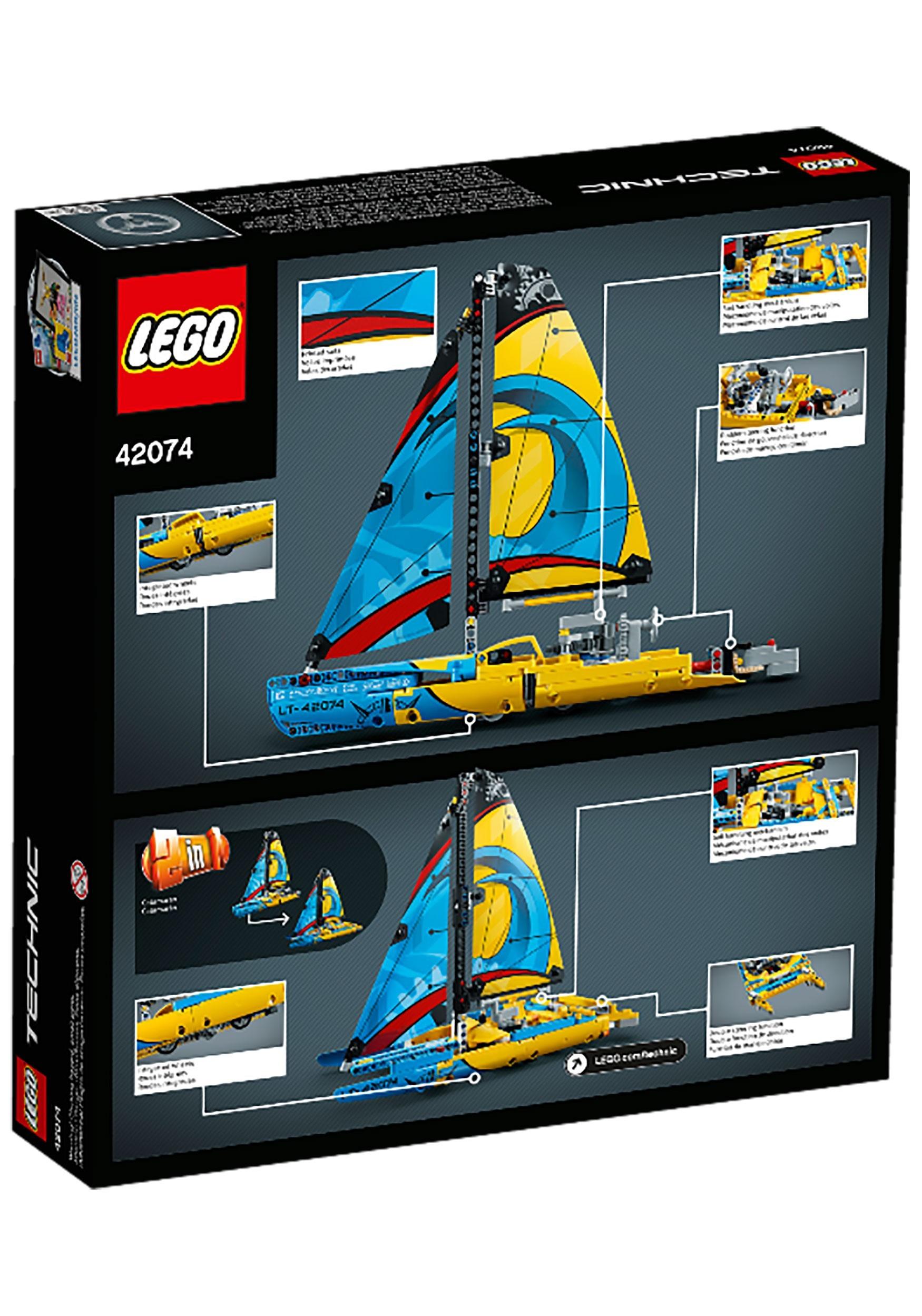 lego technic racing yacht set. Black Bedroom Furniture Sets. Home Design Ideas