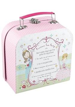 Princess 7 Pc Tin Tea Set in Case