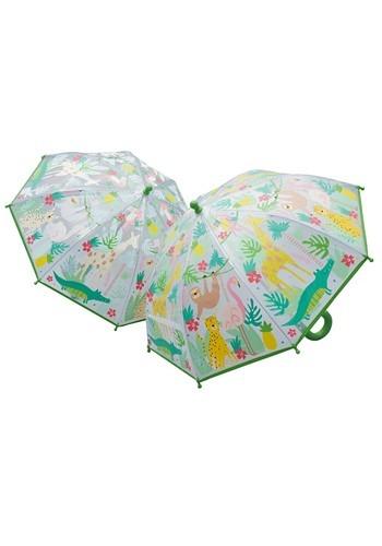Jungle Animals Color Changing Umbrella