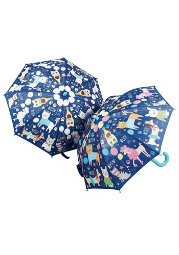Pets Print (Dogs and Cats) Color Changing Umbrella