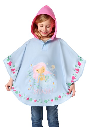 Mermaid Color Changing Poncho11