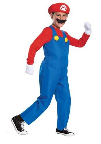Boys Super Mario Brothers Mario Deluxe Costume
