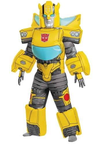 Inflatable Transformers Kids Bumblebee Costume