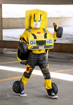 Kids Transforming Transformers Bumblebee Costume