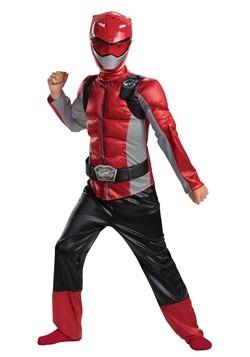 The Power Rangers Beast Morphers Kids Red Ranger Costume