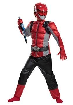 The Power Rangers Beast Morphers Kids Red Ranger Costume alt