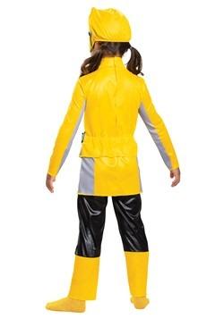 Girls Yellow Power Ranger Beast Morphers Costume2