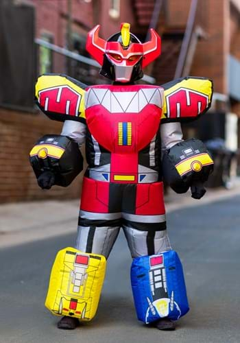 Power Rangers Megazord Kid's Inflatable Costume Update