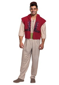 Mens Aladdin Live Action Costume