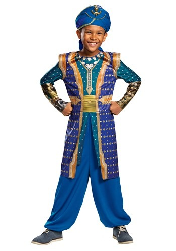 Aladdin Live Action Boys Genie Costume1