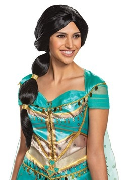 Princess Jasmine Aladdin Live Action Adult Wig