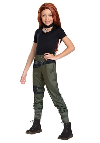 Kim Possible Live Action Classic Girls Costume