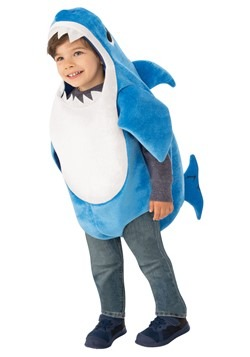 Toddler's Baby Shark Daddy Shark Costume with Sound