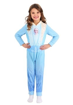 Girls Frozen Elsa Union Suit