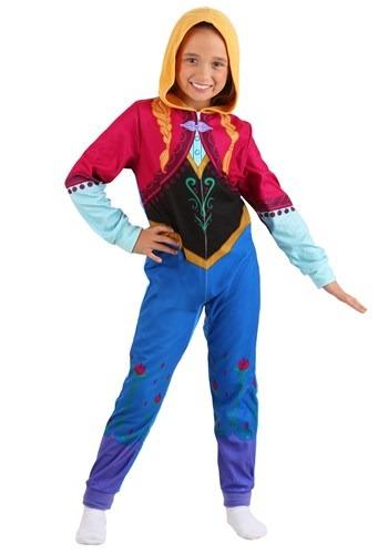 Frozen Girls Anna Union Suit