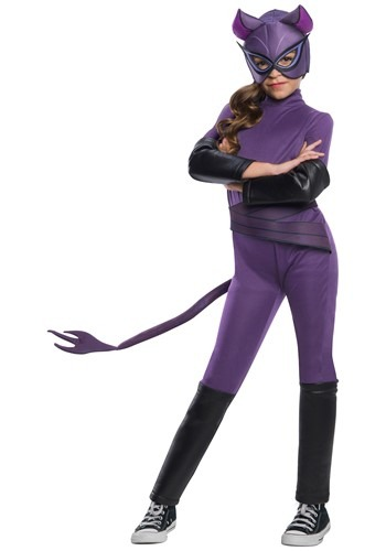 Girl's Catwoman Deluxe Costume