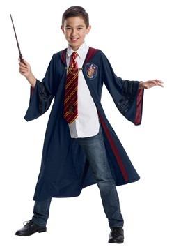 Kids Fantastic Beasts Vintage Gryffindor Deluxe Robe