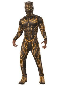 Black Panther Killmonger Battle Suit Adult Deluxe Costume